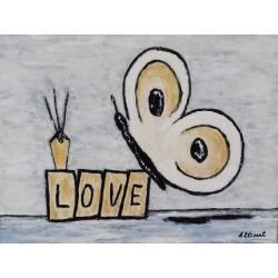 Mariposa Love 30x40