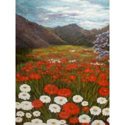 Flores en el Valle