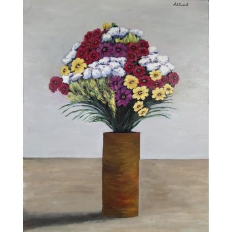 Jarron flores 80x65