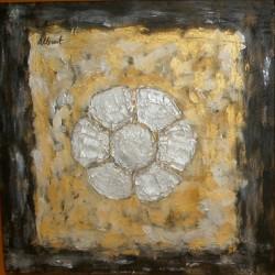 Cuadro flor de Reus Altisent 40x40