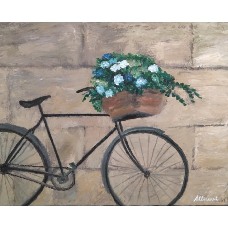 Bicicleta 40x50