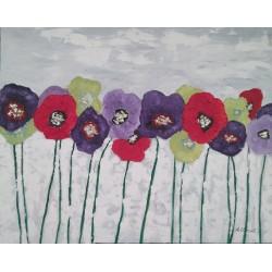 Flores moderno 80x100