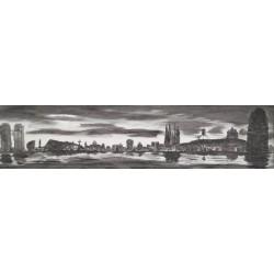 Ciudad Barcelona 50X150