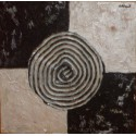 Cuadro espiral Altisent 40x40