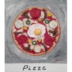 Cuadro Pizza Altisent 40x35
