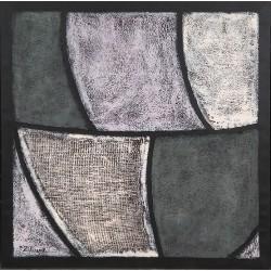 Cuadro abstracto partes  Altisent 60 x 60