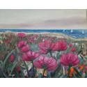 Cuadro Flores al mar Altisent 80x100