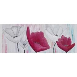 Flores moderno relieve