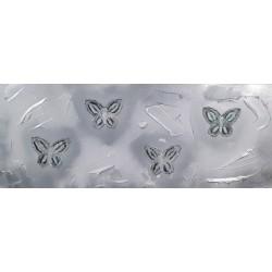Cuadro abstracto mariposas Altisent 50x150