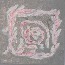 Abstracto flor laurel