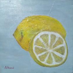 Cuadro frutas relieve Altisent 40x40