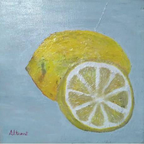 Cuadro limones