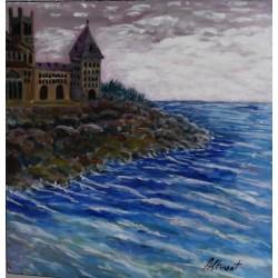 Castillo con mar